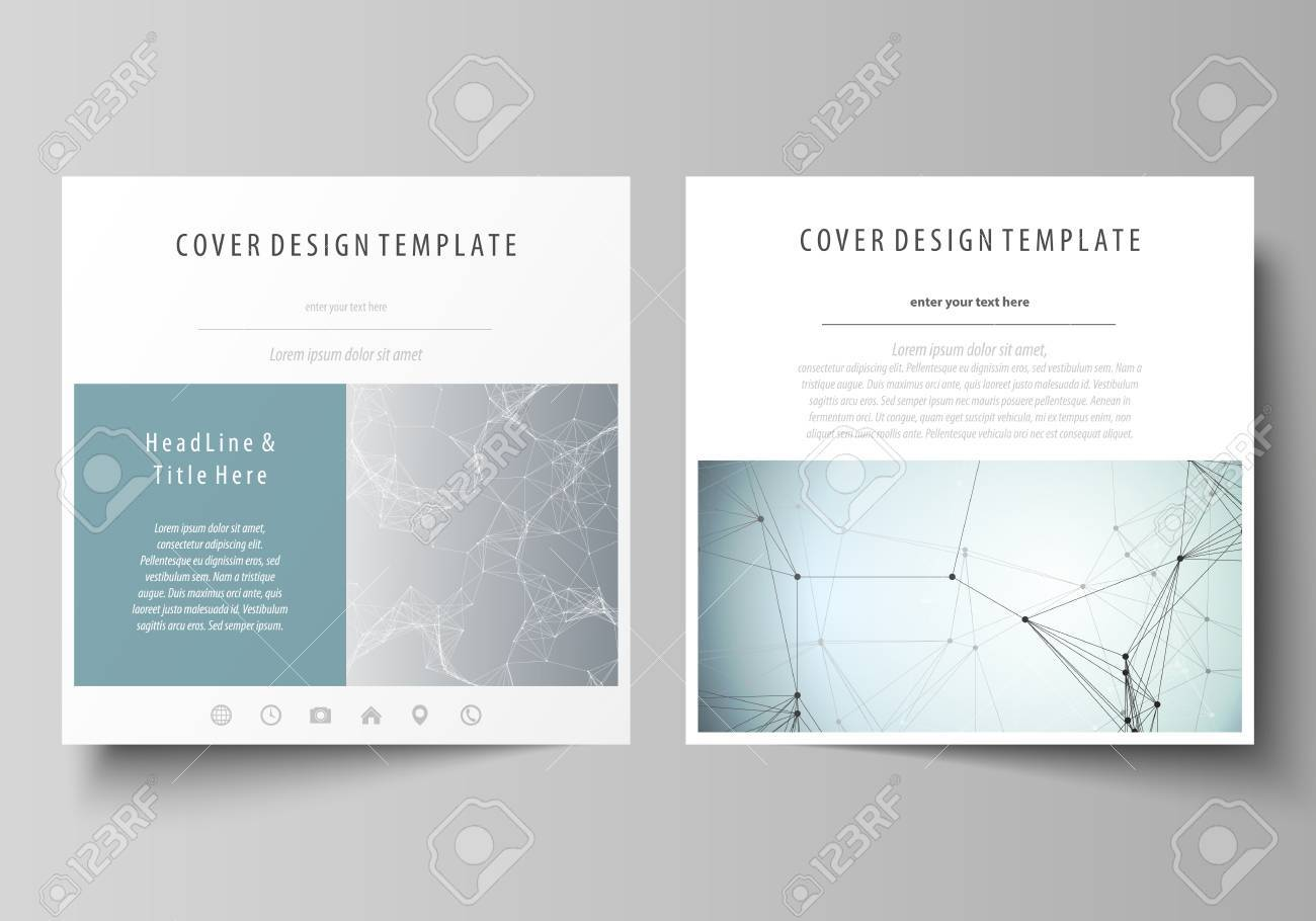 Business Templates Square Design Brochure, Magazine, Flyer, Booklet ...