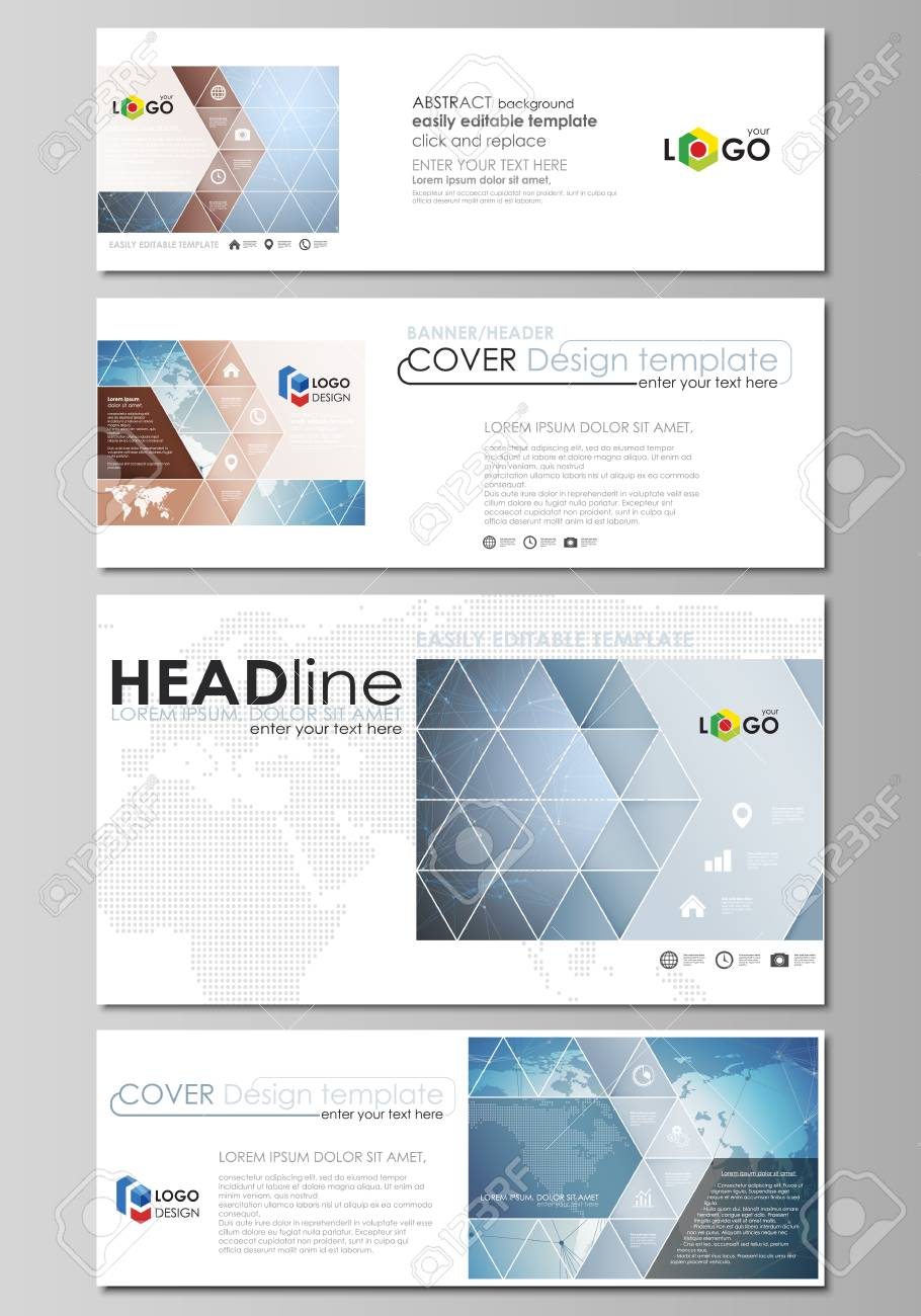 The Minimalistic Vector Illustration Of The Editable Layout Of ...