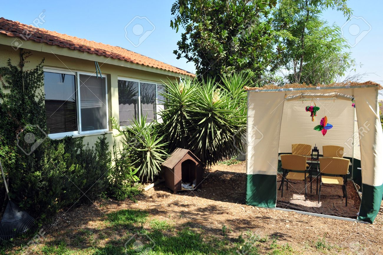 a sukkah is a temporary hut constructed for use during the week