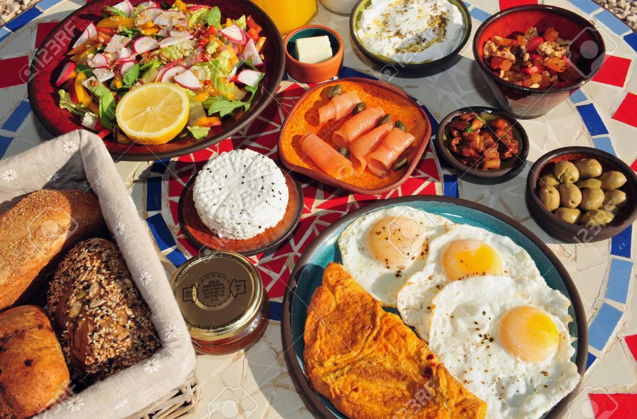 Image result for israeli breakfast