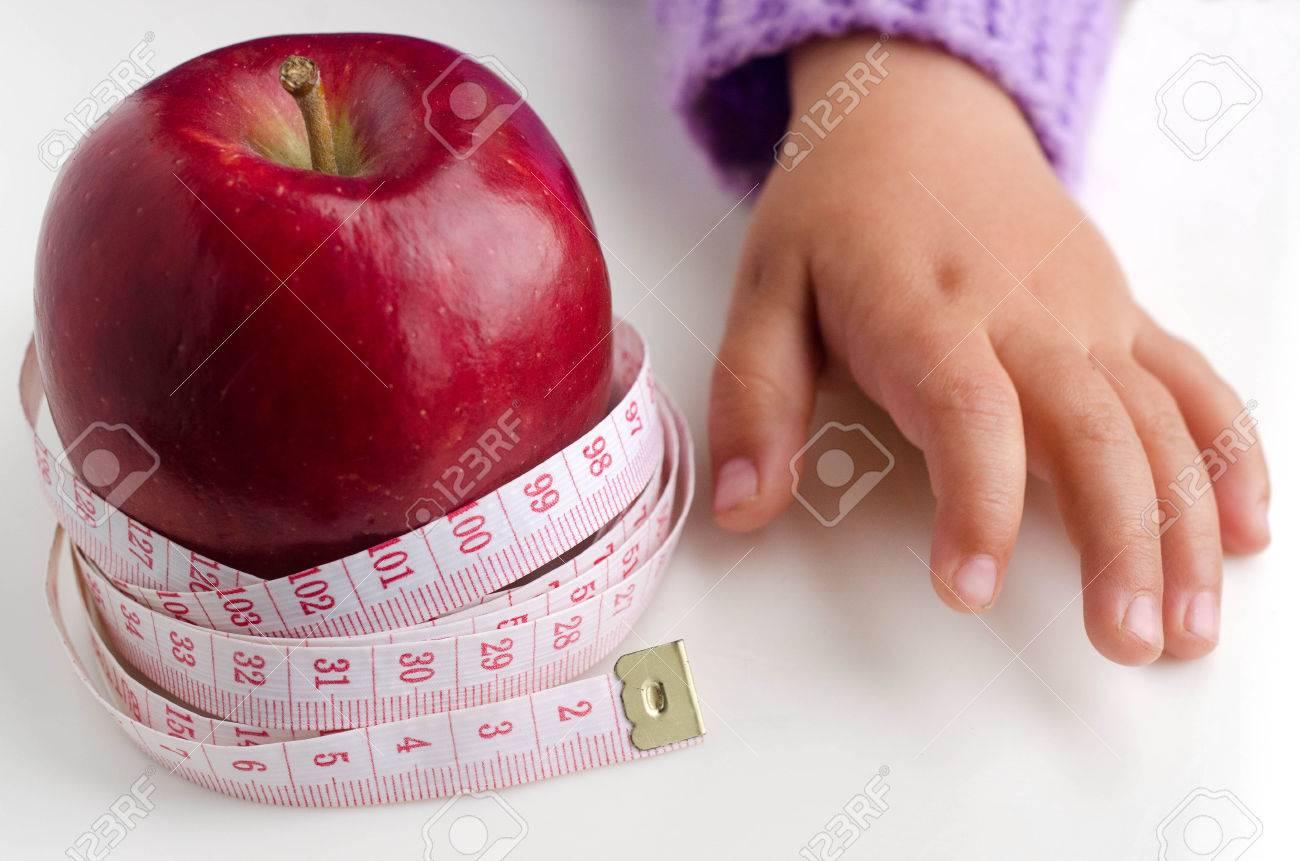 una manzana en metros