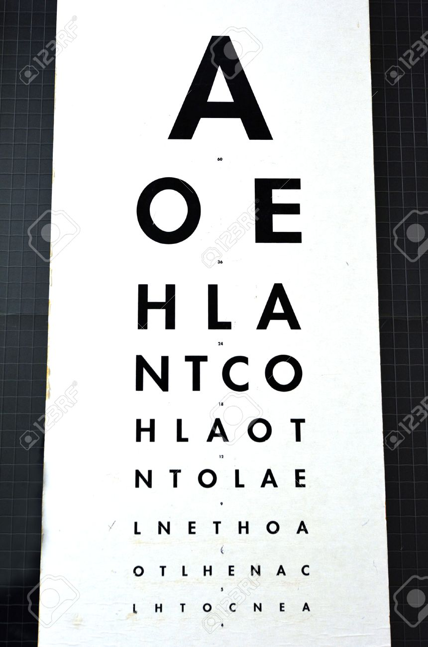 Eye examination traditional snellen chart used for visual acuity eye examination traditional snellen chart used for visual acuity testing concept photo of health geenschuldenfo Gallery
