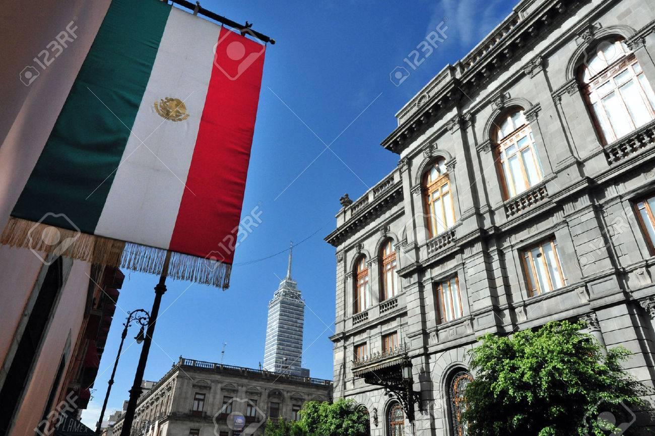The Senate of Mexico building in Mexico City, Mexico. - 47617106