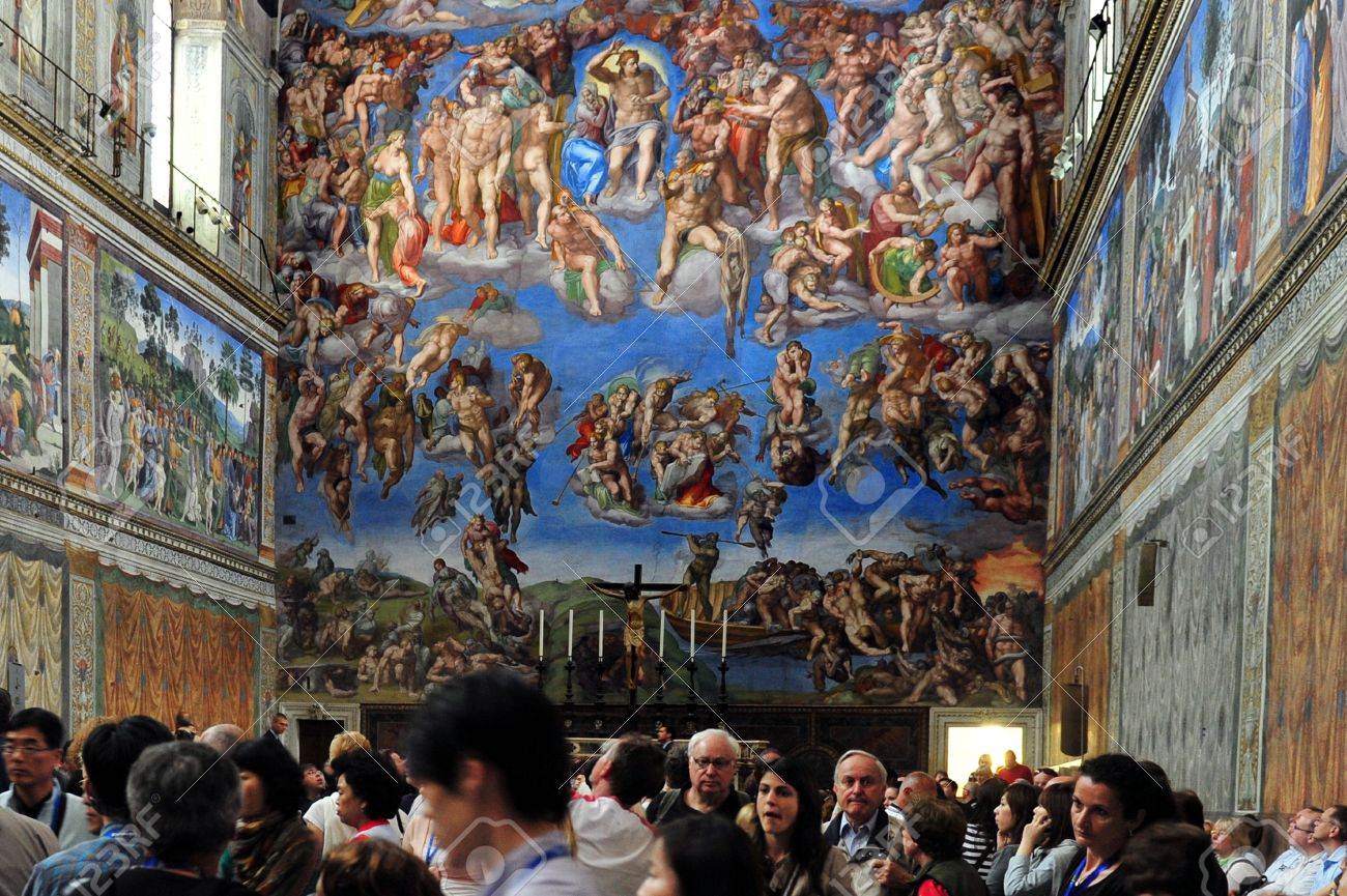 Vatican April 29 The Sistine Chapel Ceiling Of Michelangelo