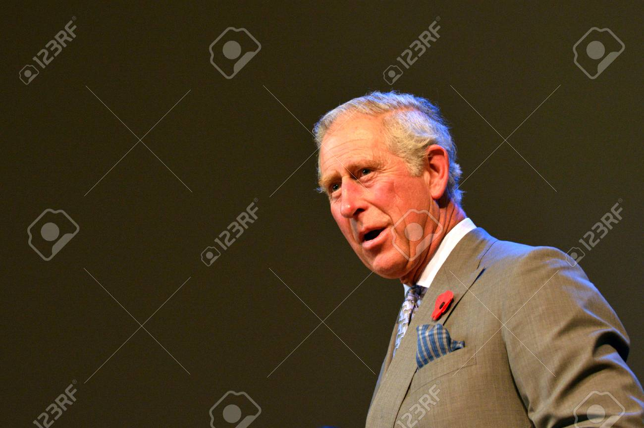 AUCKLAND - NOV 08 2015:Prince of Wales C visit in Auckland New Zealand.He is the oldest person to be next-in-line to become king of Great Britain. - 47907687