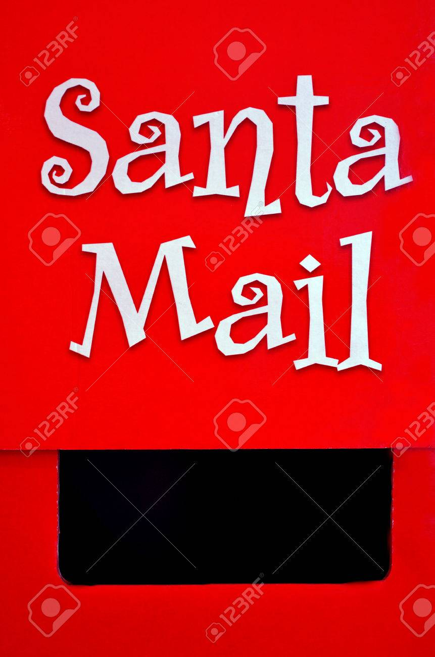 Santa claus mail box on christmas xmas holiday concepts and santa claus mail box on christmas xmas holiday concepts and ideas letter writing spiritdancerdesigns Choice Image