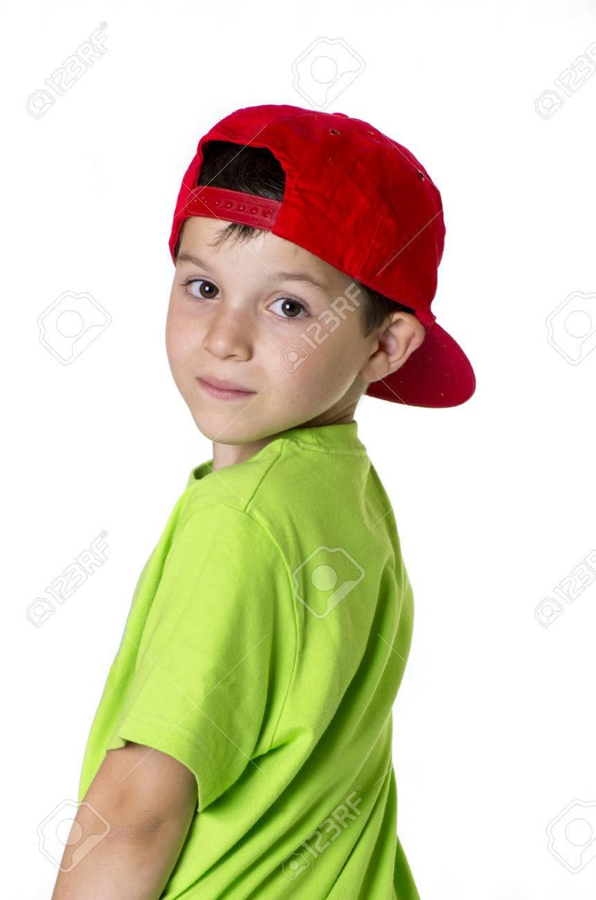 completo en especificaciones gran selección de 2019 mayor descuento Gente real (con una gorra roja niño