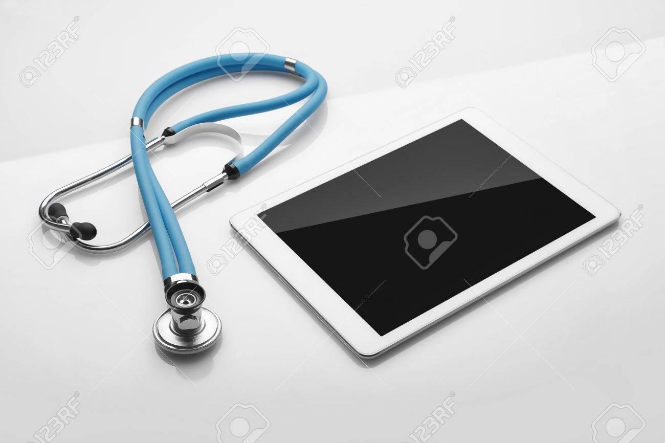 Equipement médical et numérique pour le bureau de médecin outils
