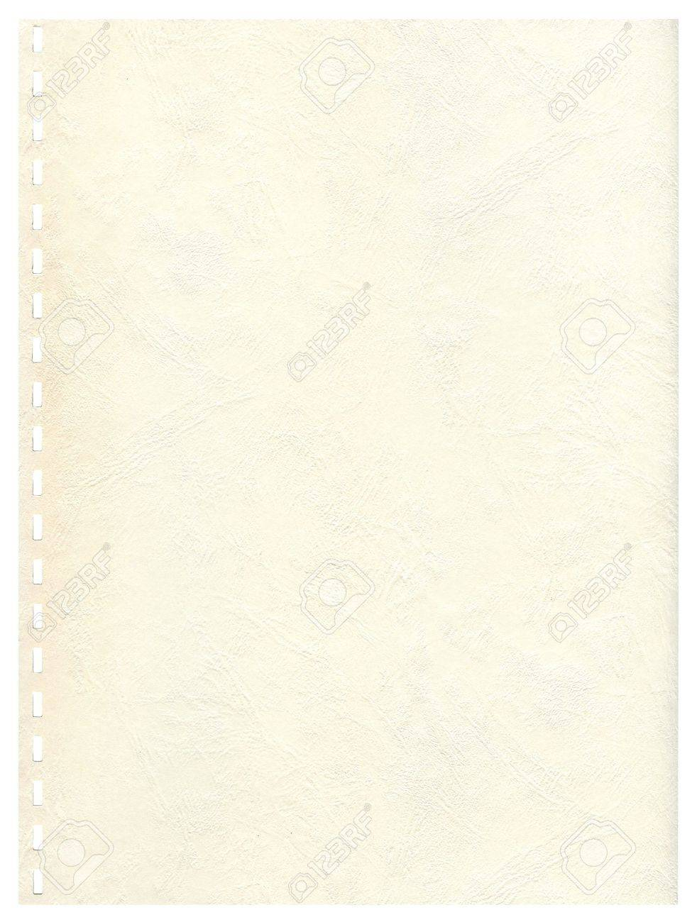 Vintage old page from a notebook to background Stock Photo - 4656544