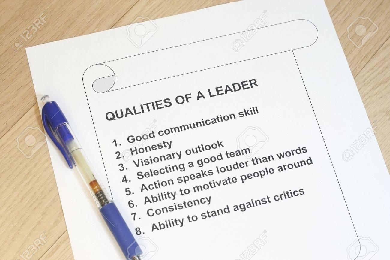 Cualidades De Un Líder Con El Concepto De Pluma - Muchos Usos Para ...
