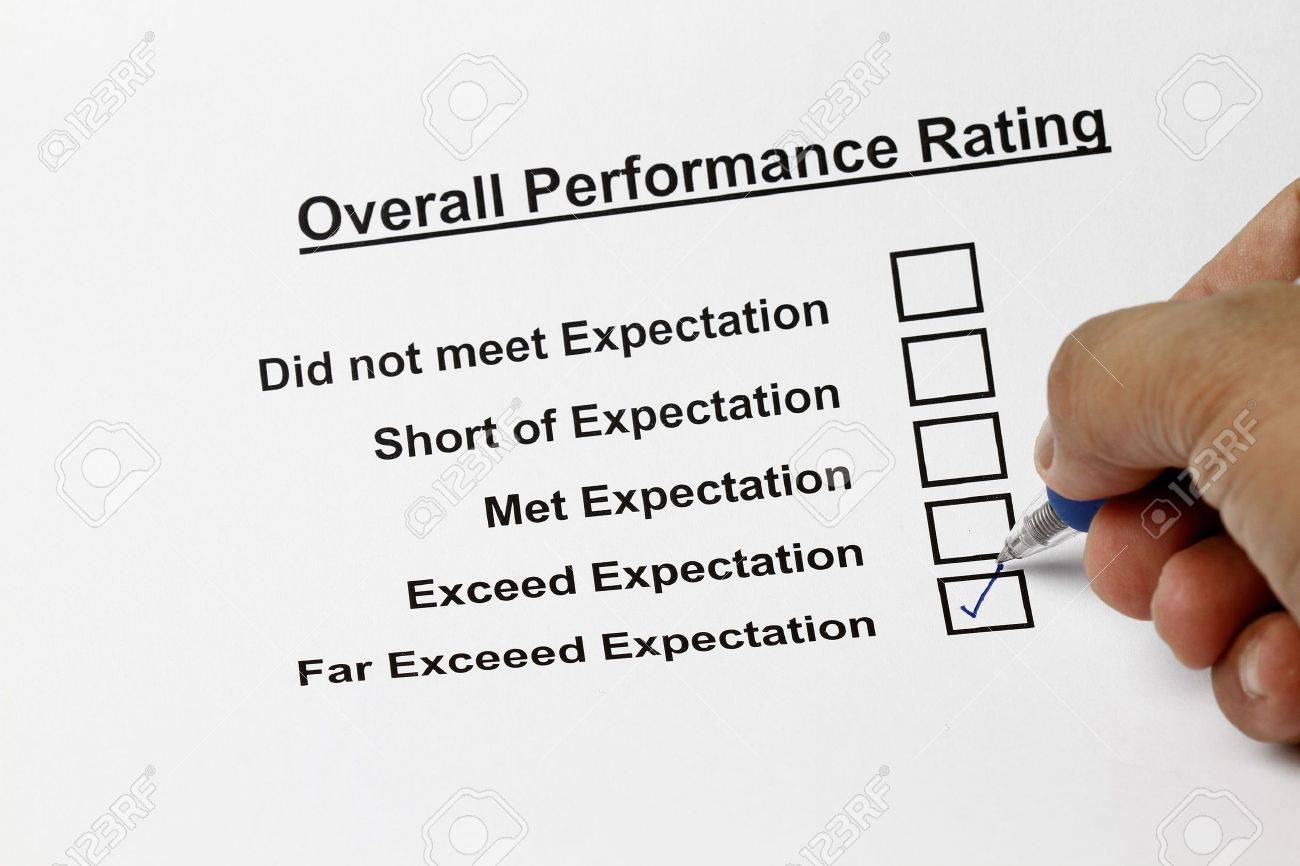 Excellent service customer satisfaction survey form Stock Photo - 5993962