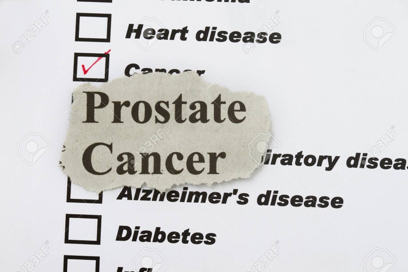 Cancer newspaper cut out in a selection of many disease. Stock Photo - 16272091