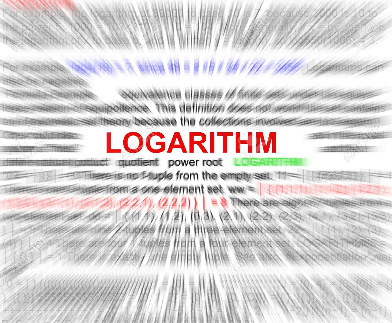 Logarithm word radial blur in a white background stock photo logarithm word radial blur in a white background stock photo 20660357 ccuart Gallery