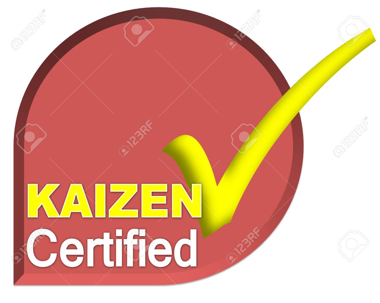 Certificate logo or symbol of kaizen system on dark red color stock certificate logo or symbol of kaizen system on dark red color stock photo 28386467 1betcityfo Gallery
