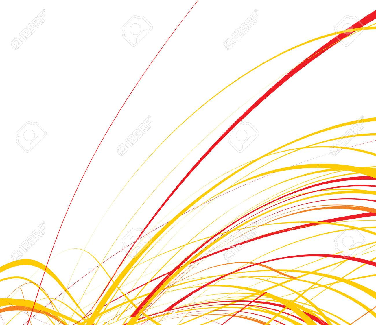 abstract wave line background, vector illustration Stock Vector - 4753175