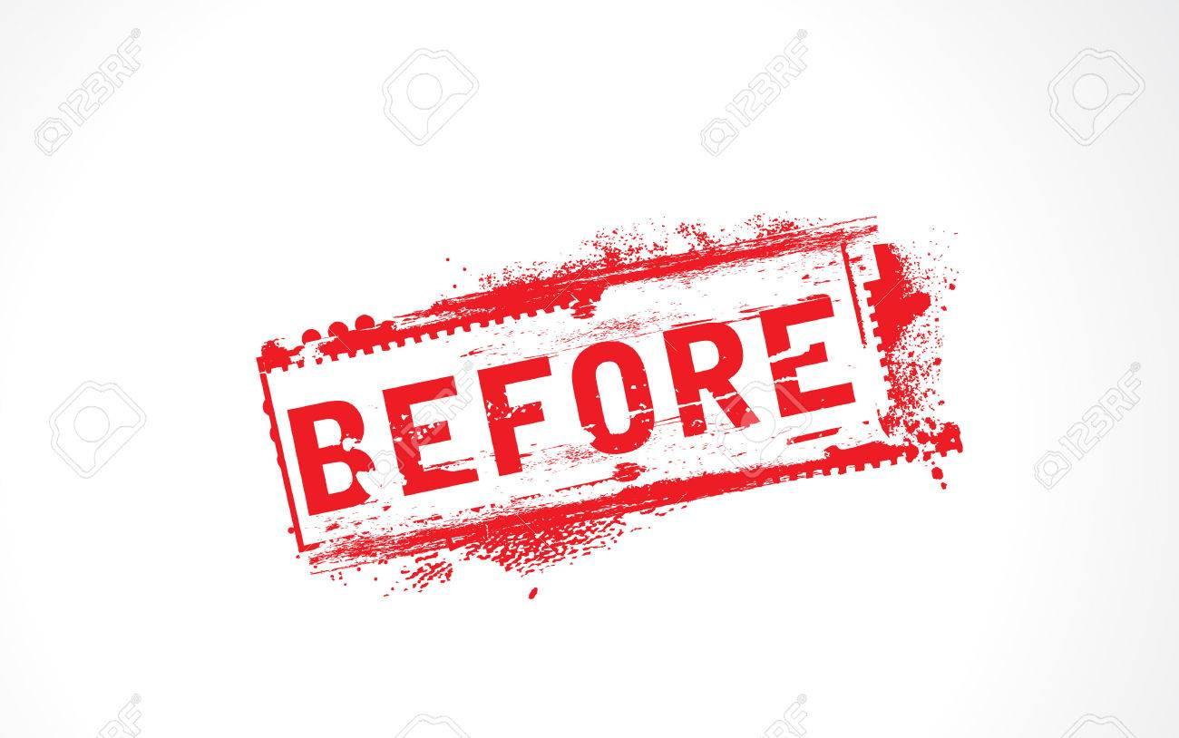 Before Grunge Text Stock Vector - 5048679