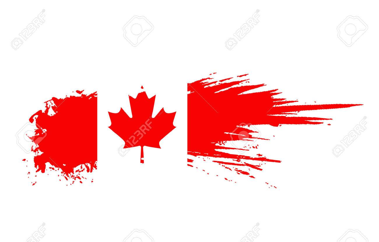 grunge canada flag background royalty free cliparts vectors and