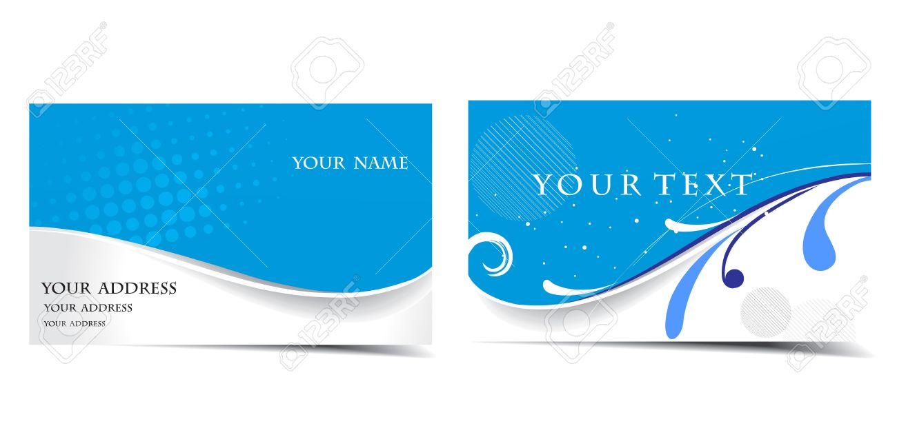Vector Business Card Set, For More Business Card Of This Type ...