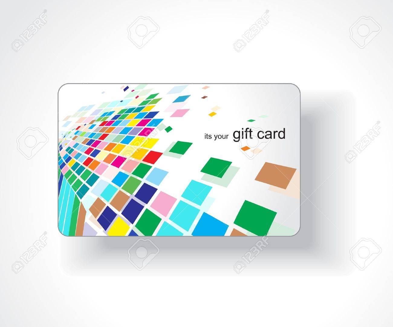Beautiful gift card, vector illustration. Stock Vector - 7153243