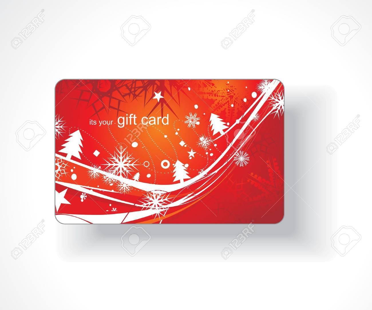 Beautiful gift card, vector illustration. Stock Vector - 7153431