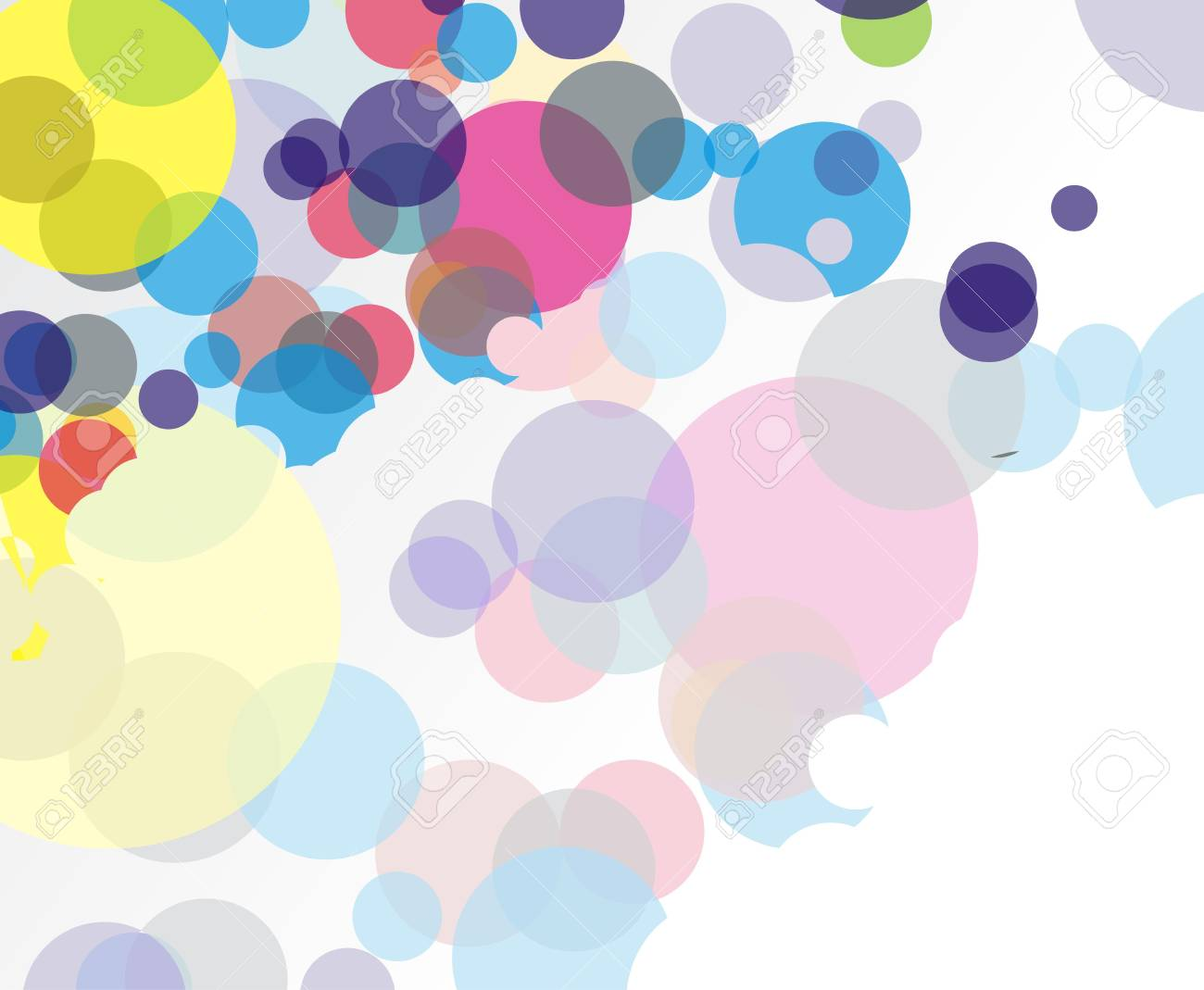 Abstract colorful circle background Stock Vector - 7272139