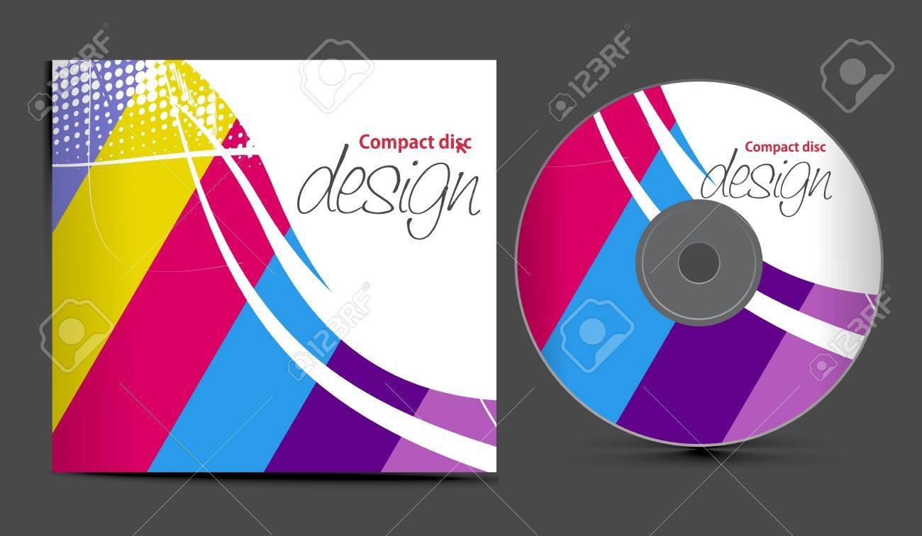 Encantador Plantilla De Dvd De Indesign Ornamento - Ejemplo De ...
