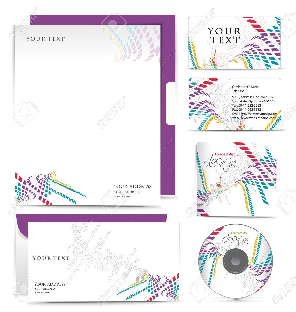 Business-Stil-Vorlagen Für Ihr Projektdesign, Illustration ...