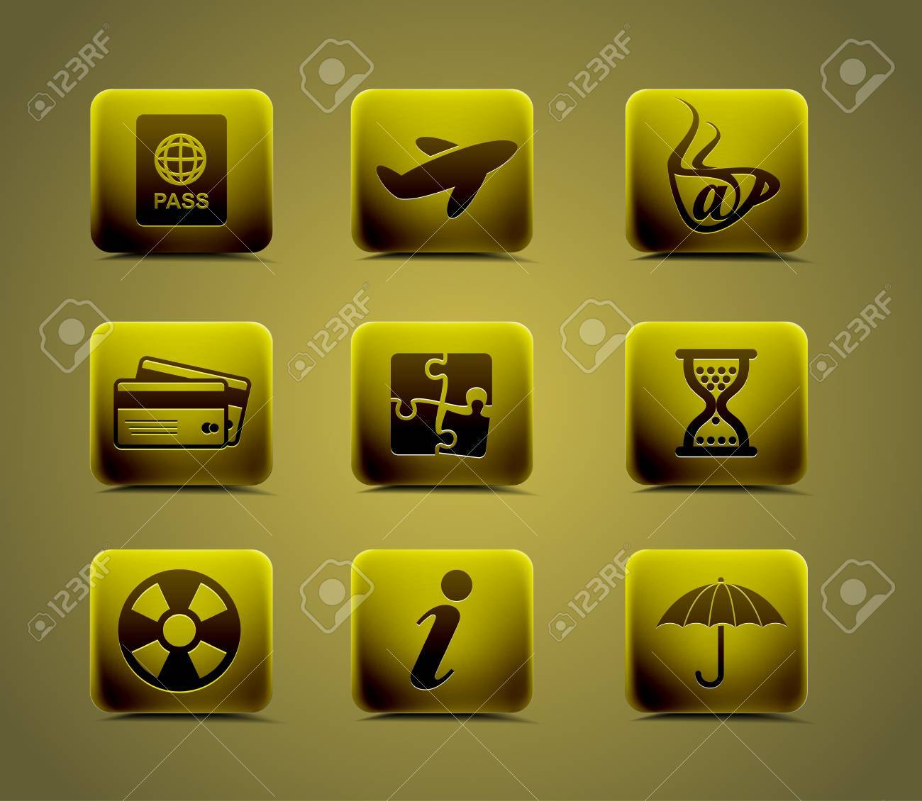 Travel icon set. easy to edit vector image. Stock Vector - 9066148