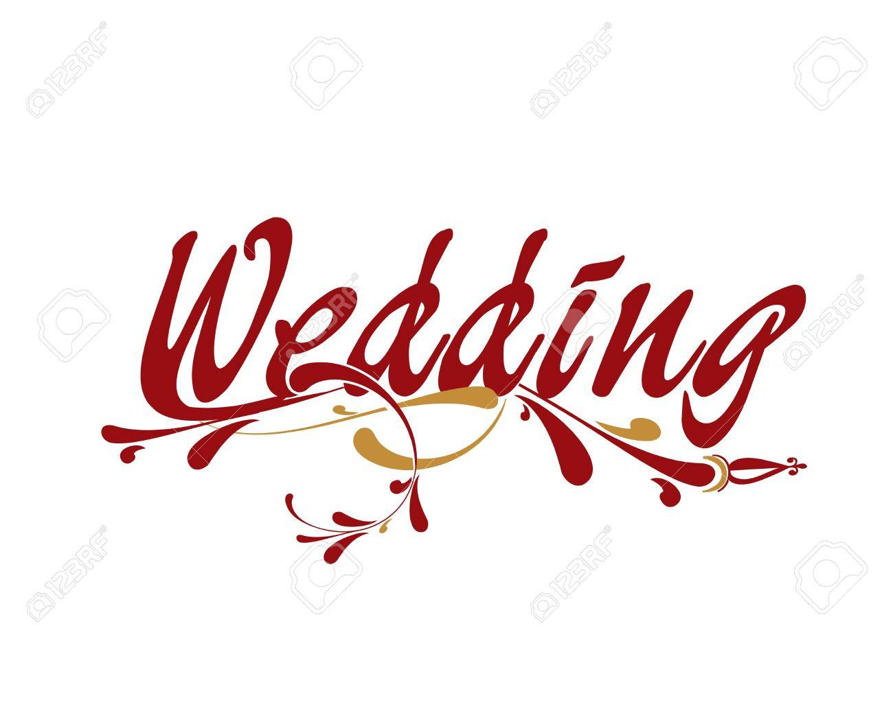 Wedding floral vector illustration design element. Stock Vector - 9279881