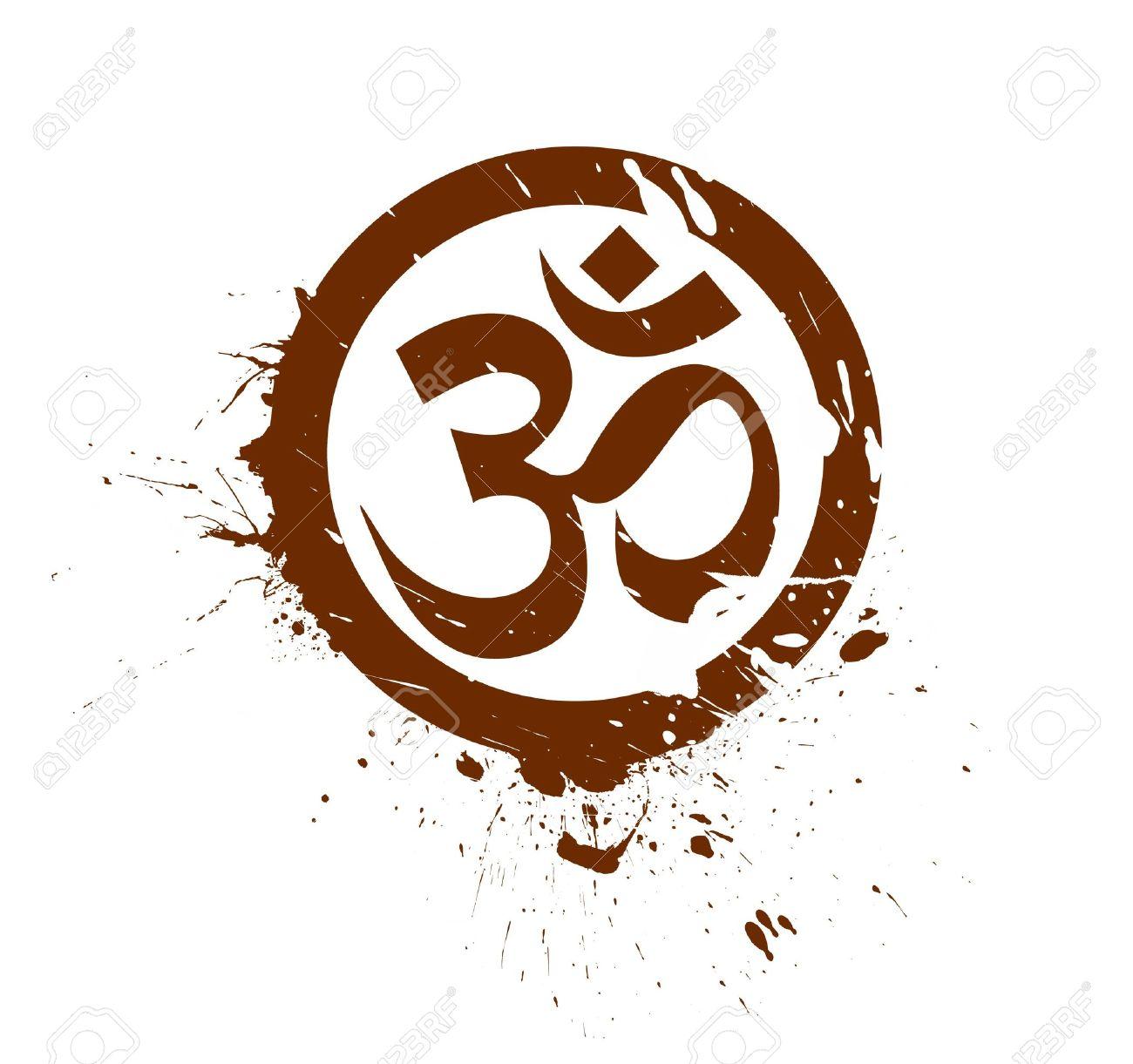 grunge lord ganesha, diwali symbols design Stock Vector - 11193870