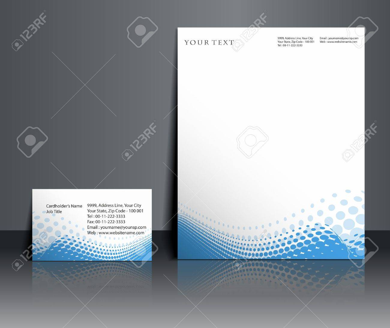 Business style templates for your project design, Vector illustration. Stock Vector - 12335919