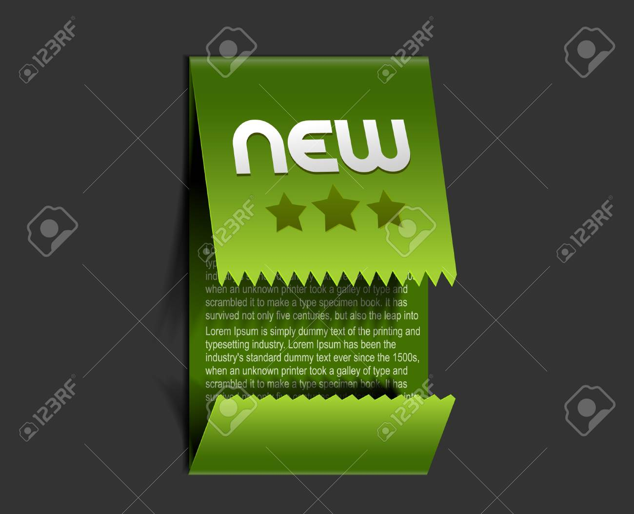 sticker &amp, label for text design. Stock Vector - 14576452