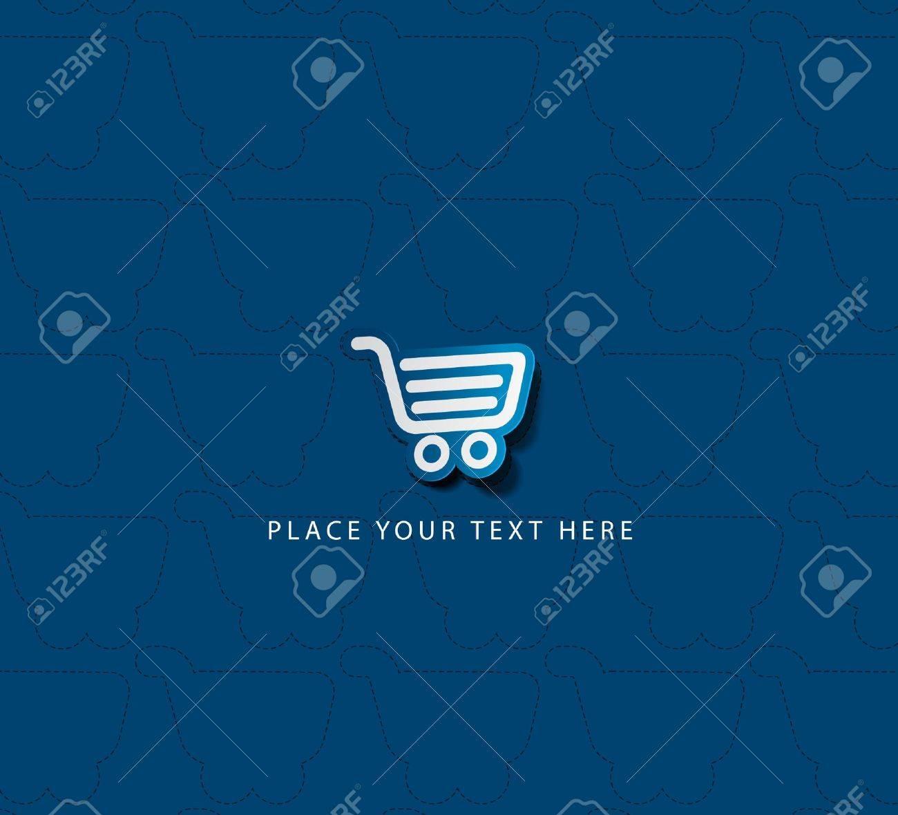 Vector shopping cart item - buy buttons Stock Vector - 14783950