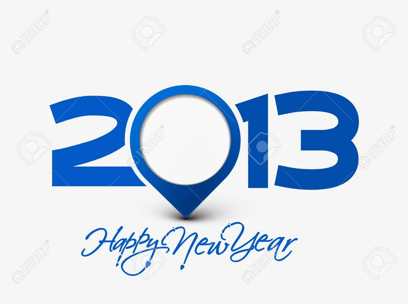 Happy new year 2013 celebration background for your posters design. Stock Vector - 16574987