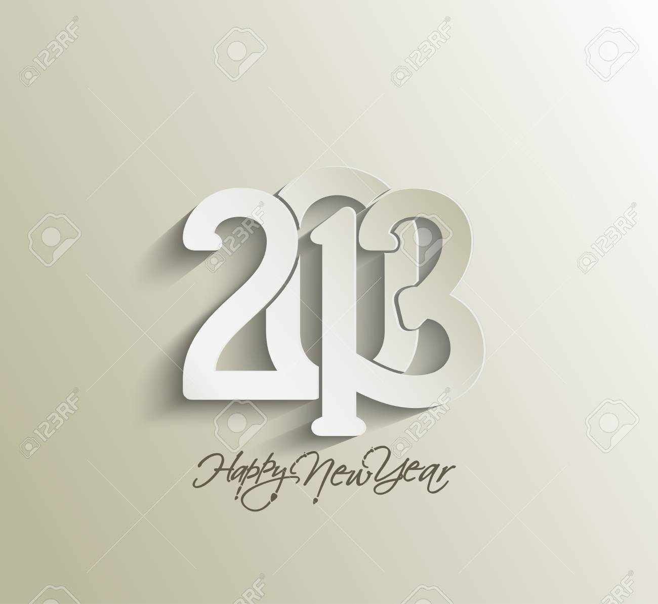Happy new year 2013 celebration background for your posters design. Stock Vector - 16575026