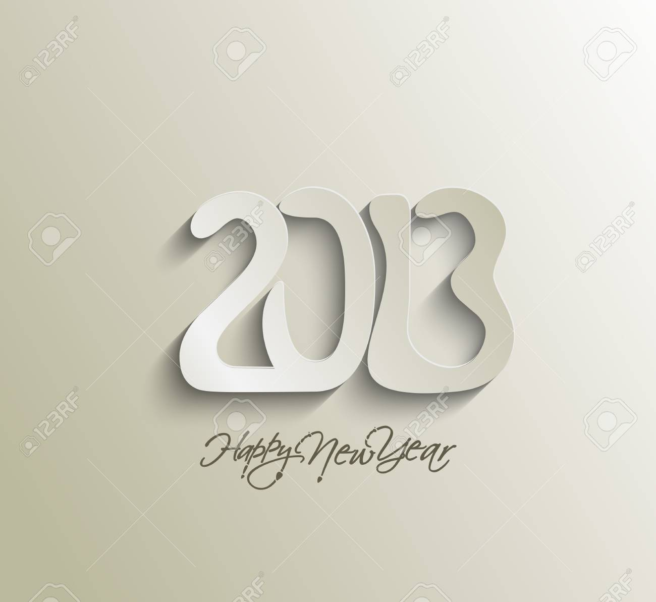 Happy new year 2013 celebration design. Stock Vector - 16818503