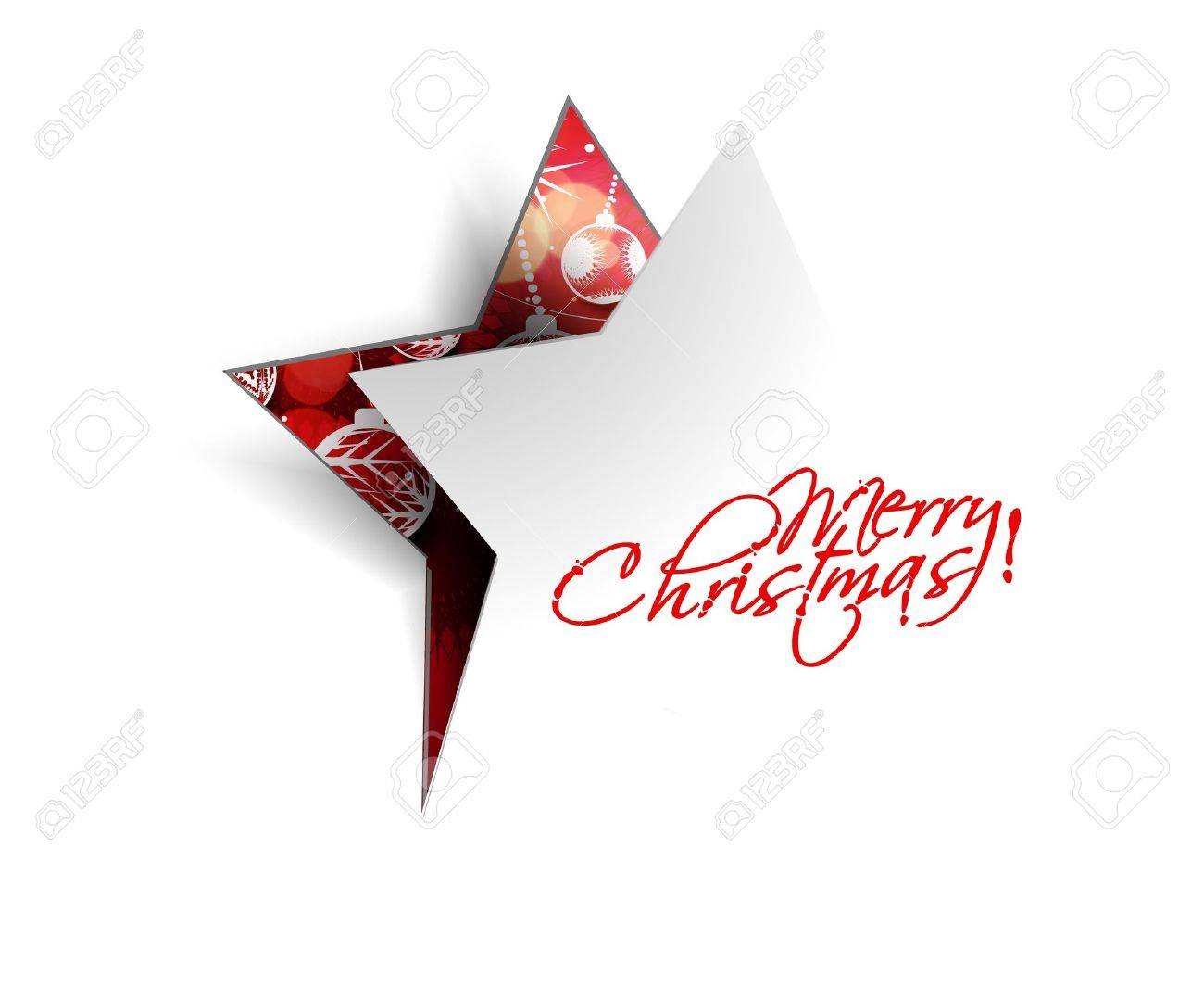 Modern christmas tree background illustration Stock Vector - 16818846