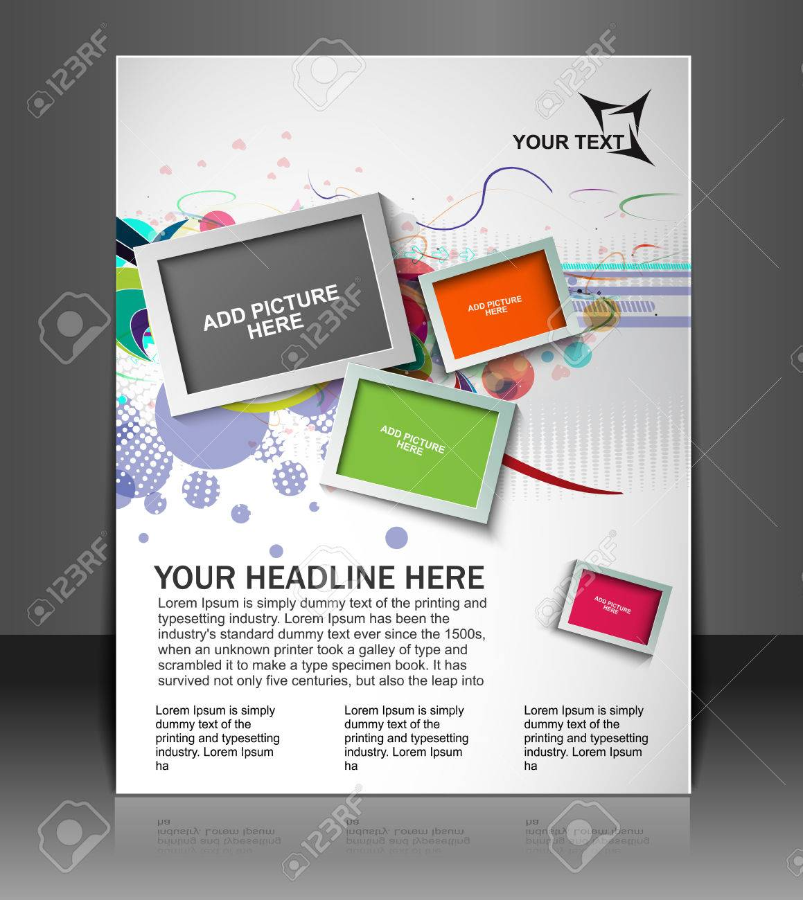 Global Business Flyer & Poster Template Stock Vector - 26371307