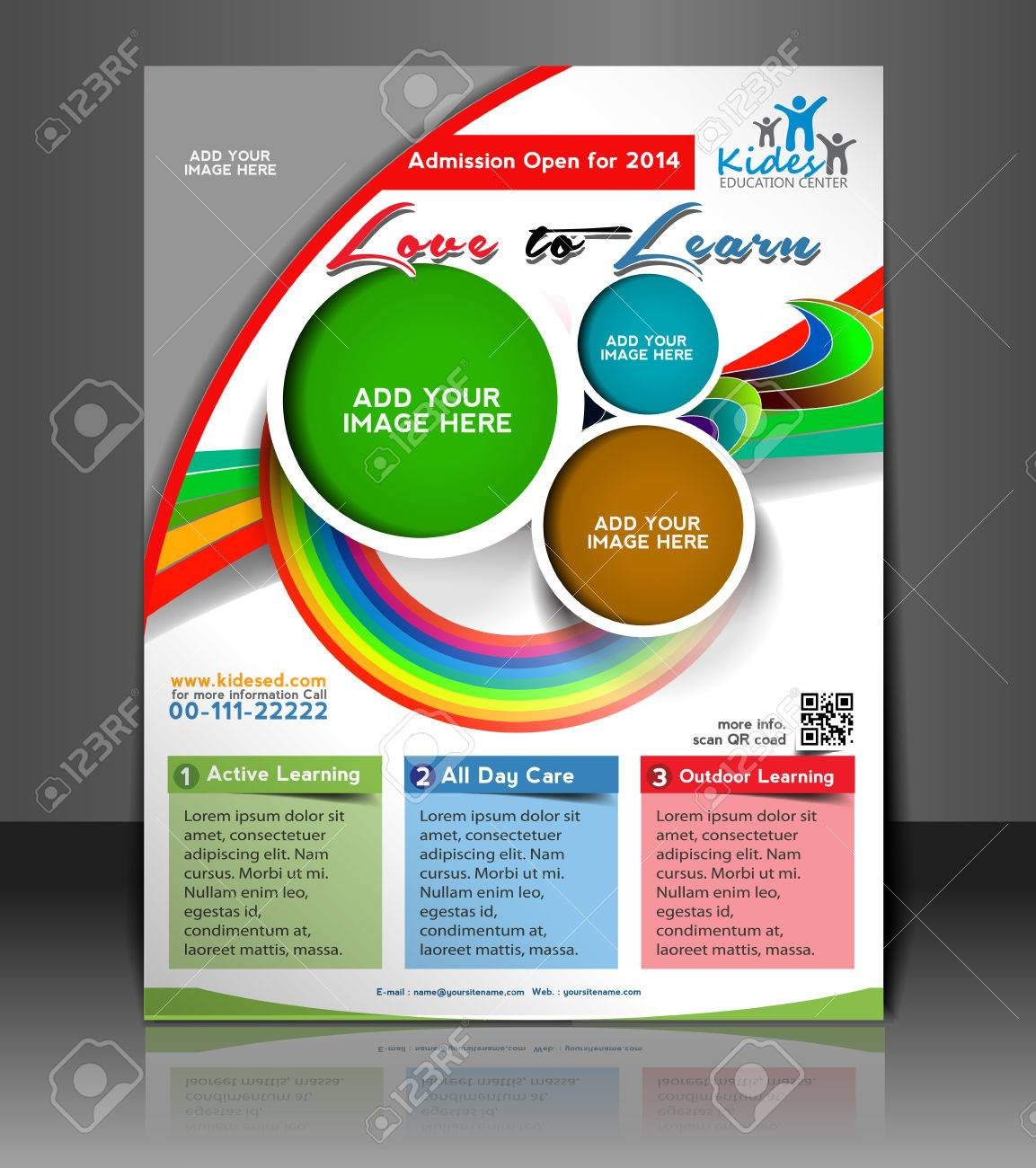 school flyer template free
