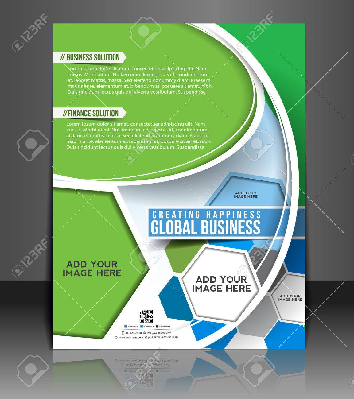 global business flyer poster template design royalty global business flyer poster template design stock vector 26787689