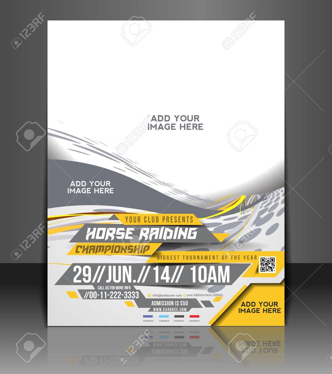 clean poster images stock pictures royalty clean poster clean poster horse riding flyer poster template design