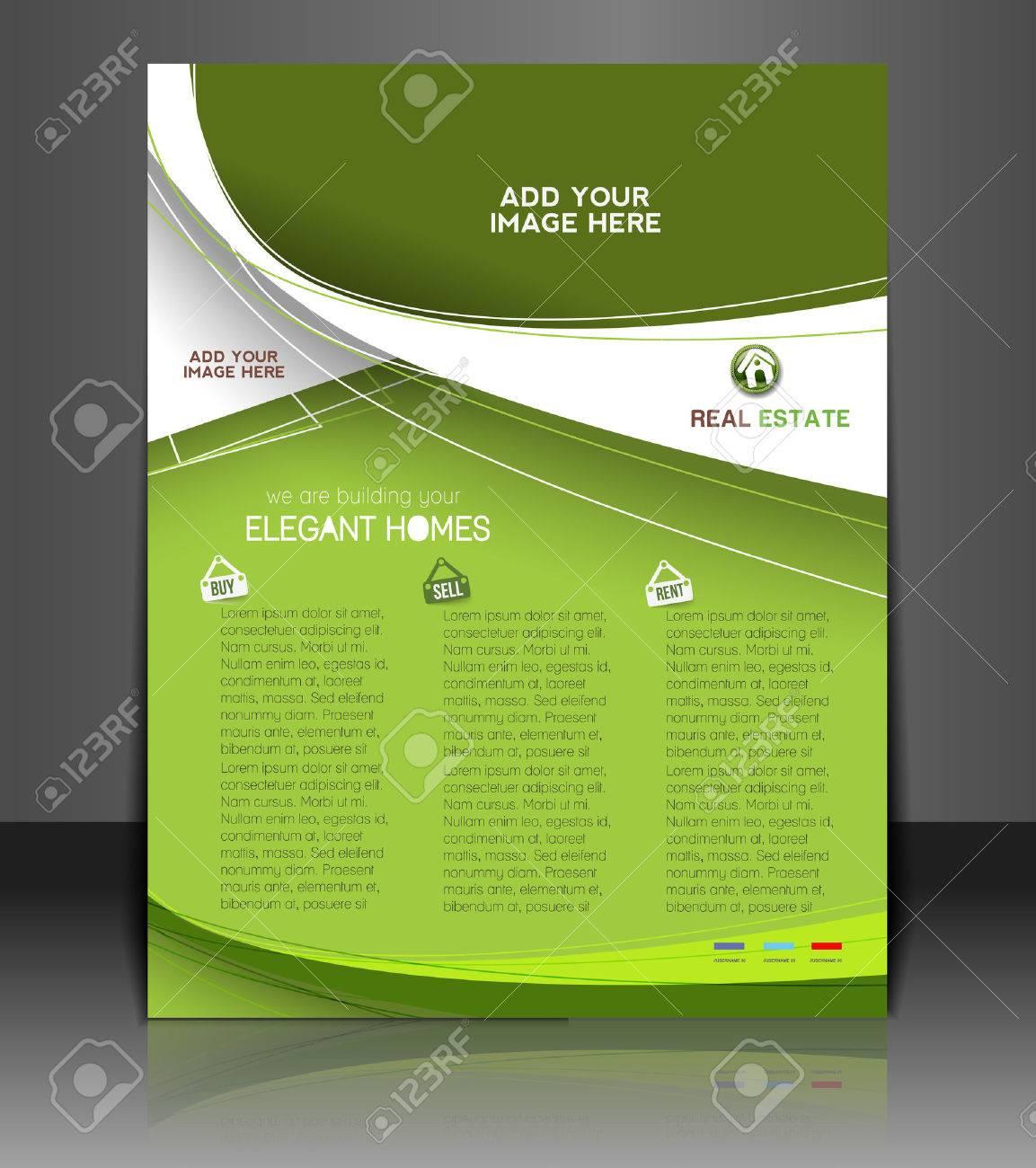 Real Estate Agent Flyer & Poster Template Design