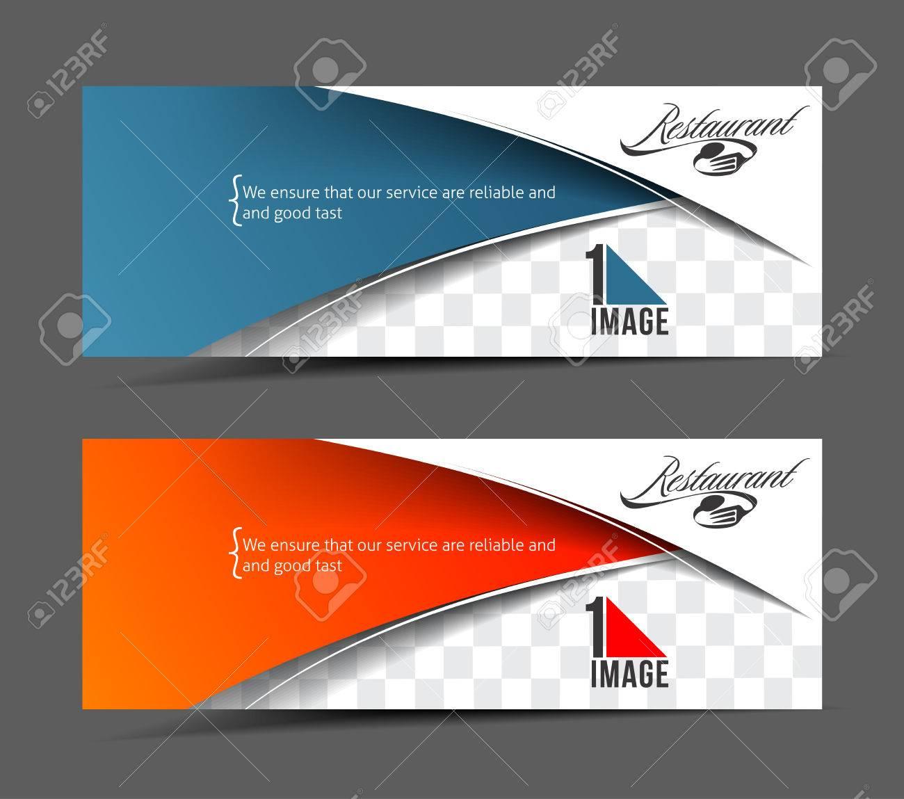 modern restaurant business design banner template stock vector 38300782