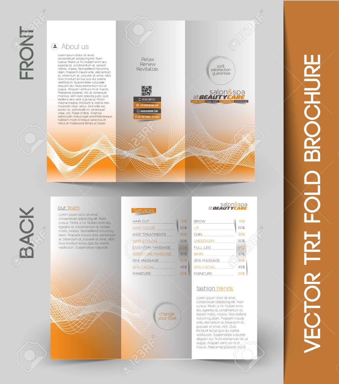 Corporate Business Tri-Fold Mock up & Brochure Design - 41833158