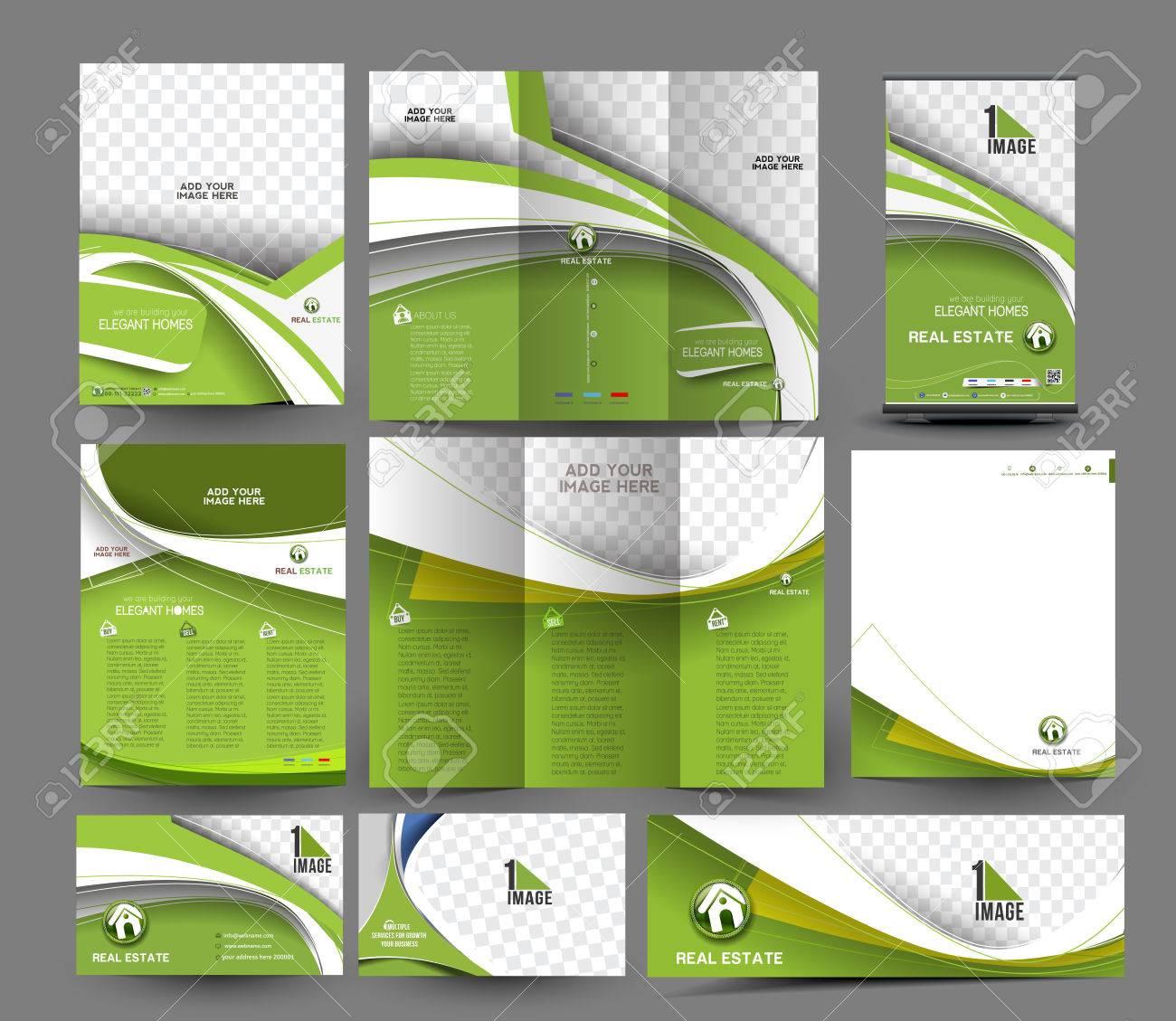Interior Designer Business Stationery Set Template - 41834248