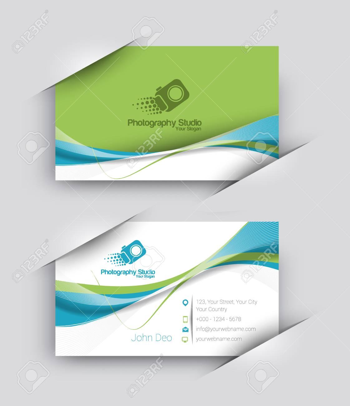 Modern Business Card Vector Template. - 51158689