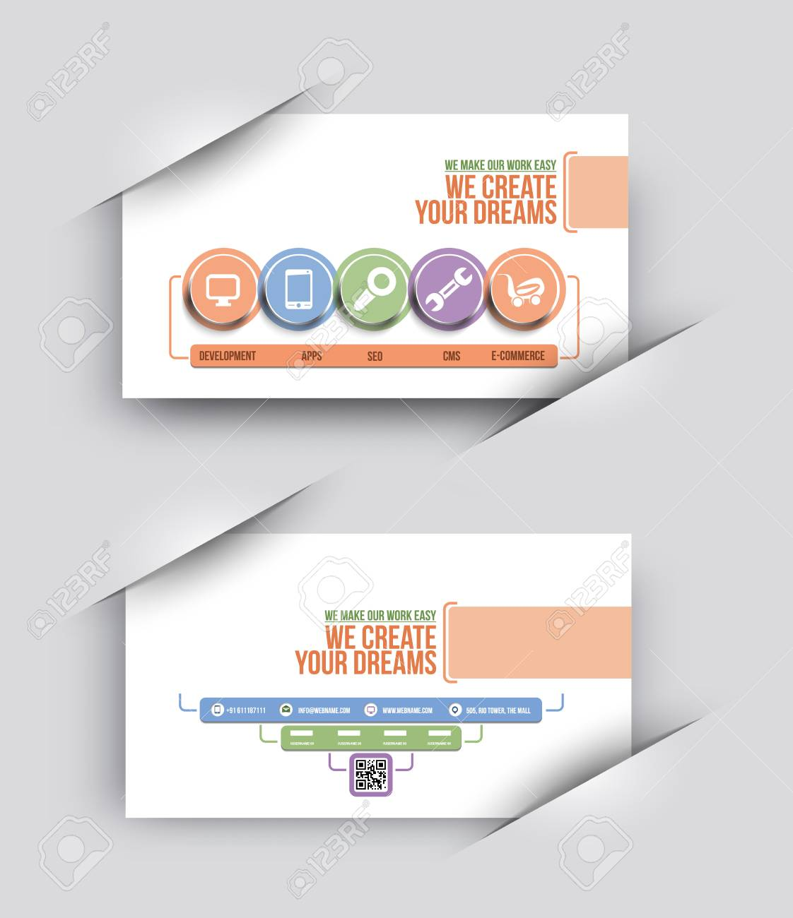 Tech multipurpose business card template royalty free cliparts tech multipurpose business card template stock vector 51158822 accmission Image collections
