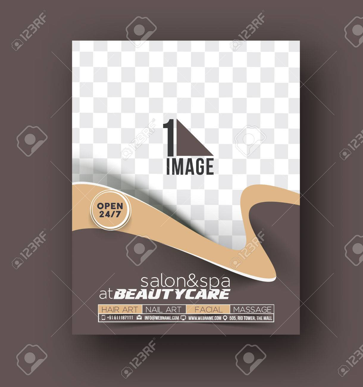 Exelent Hair Salon Flyer Schablone Vignette - FORTSETZUNG ...