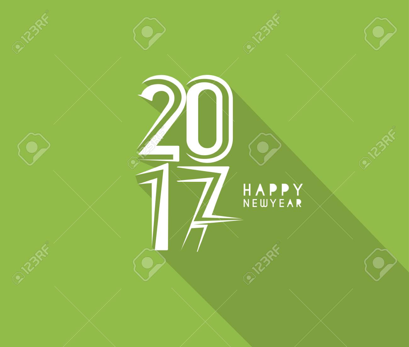 Happy New Year 2017 New Year Holiday Design Elements For Holiday
