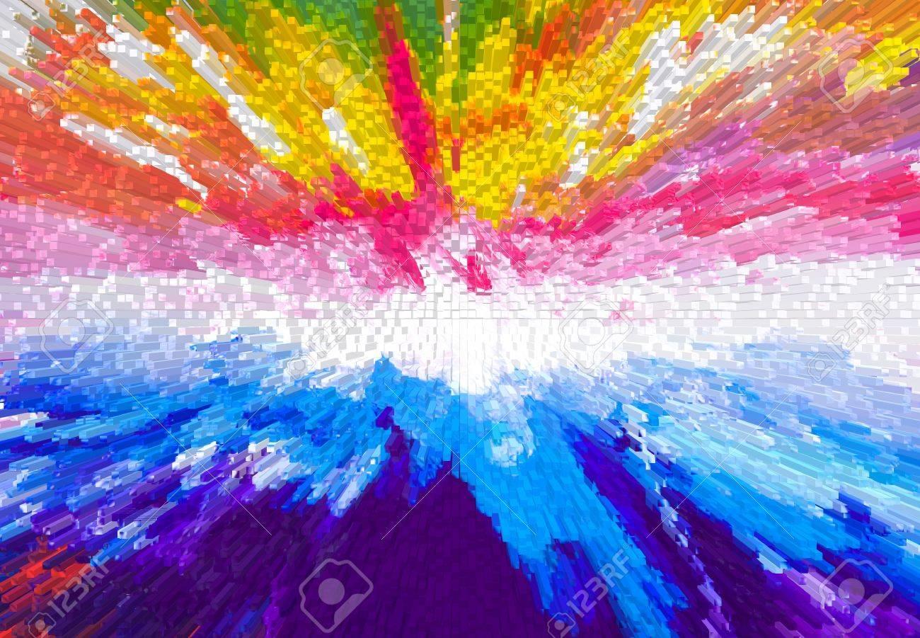 banque dimages la texture de la peinture abstraite moderne color - Tableau Abstrait Color